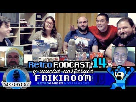 Retro Podcast #14 FrikiRoom | 4 RetroJuegos | Retro Melodías | Retro Navidades | RetroNoticias