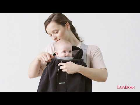 BABYBJÖRN - How to attach the Cover for Baby Carrier on Baby Carrier Mini