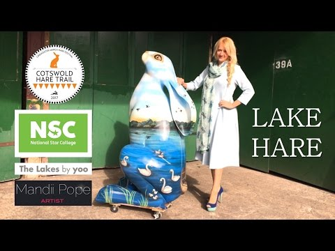 Lake Hare  - Cotswolds Hare Trail Cirencester March Festival Movie HD