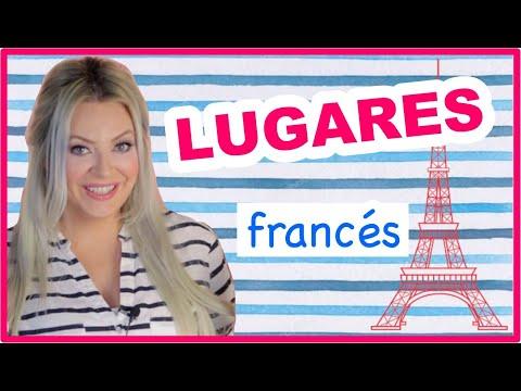 vocabulario de la ciudad #1 LUGARES BÁSICOS 🚘 francés para principiantes‼️