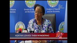 Secretary Carrington Mum On Departure From THA