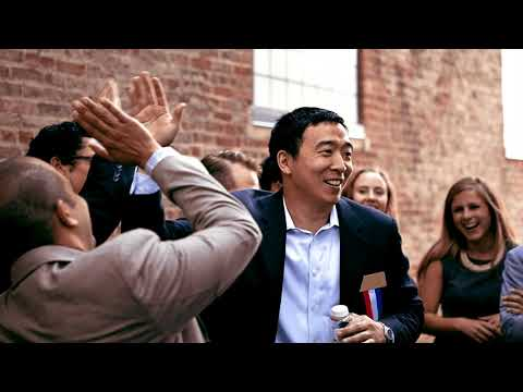 Presidential Candidate Andrew Yang - The Case for Universal Basic Income