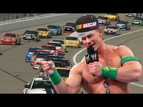 connectYoutube - HIS NAME IS... Um... Uhhhh... (Daytona 500 - John Cena)