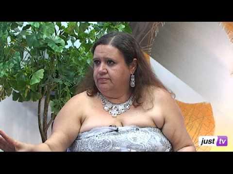 Cigana Morgana -- Previsões e Simpatias para 2014 no Programa Maria Paiva Entrevista - JustTV