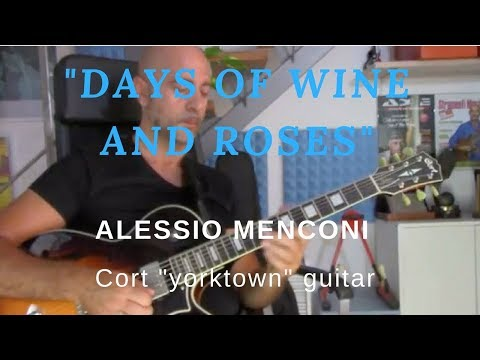 """""""Days of wine and roses"""" - Alessio Menconi Playing Cort """"York Town"""""""