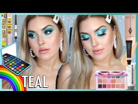 Dreamy Teal Makeup! ? Rainbow Series ?? CCGRWM