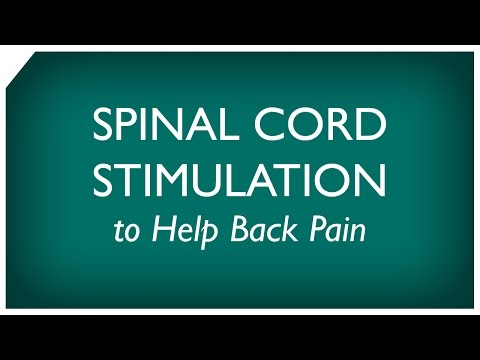 How Spinal Cord Stimulation Helps Back Pain