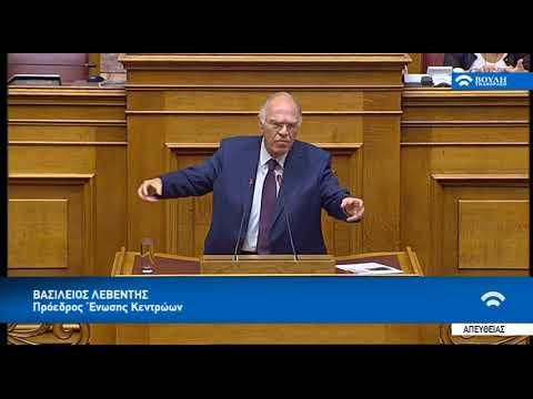 Λυπούμαι για σας κ. Σκουρλέτη... (Β. Λεβέντης, Ολομέλεια, Βουλή, 12-7-2018)
