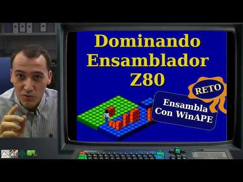 [DEZ80 3.P02] RETO: Ensambla con WinAPE