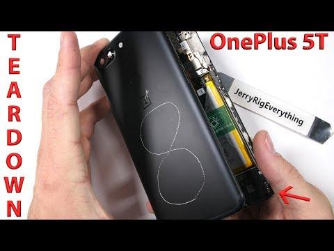 OnePlus 5T Teardown! - Hidden water resistance?