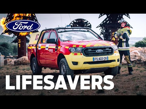 Lifesavers: Fighting Fires with the Ford Ranger in France