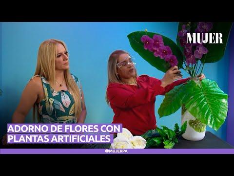 Adornos con plantas artificiales I Mujer
