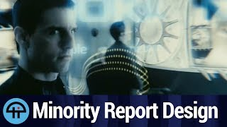 Designing Minority Report's Tech