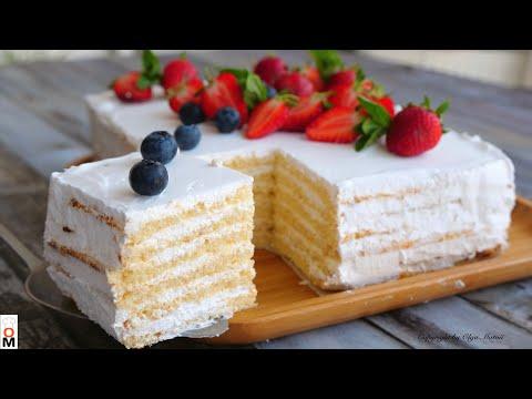 Торт Молочная Девочка  🍰  НЕРАЛЬНО ВКУСНЫЙ!!!   «Milky Girl» cake recipe
