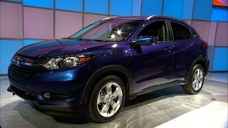 Car Tech - 2014 LA Auto Show: Honda HR-V