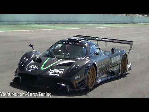EXCLUSIVE: Pagani Zonda R - Autodromo Codegua, Chile!