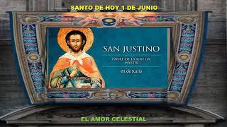 SANTO DE HOY 1 DE JUNIO SAN JUSTINO