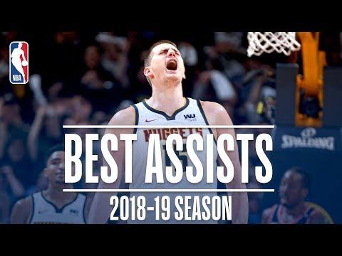 Nikola Jokic's Best Assists | 2018-19 Season | #NBAAssistWeek