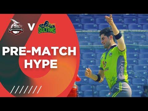 Pre-match Hype    Lahore Qalandars vs Multan Sultans   Match 7   HBL PSL 6   MG2T