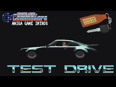 Amiga Game Intro: Test Drive (Accolade,1987)