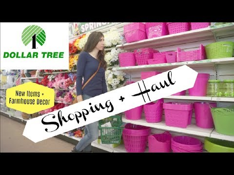 DOLLAR TREE SHOP WITH ME + HAUL | NEW ITEMS | Momma From Scratch