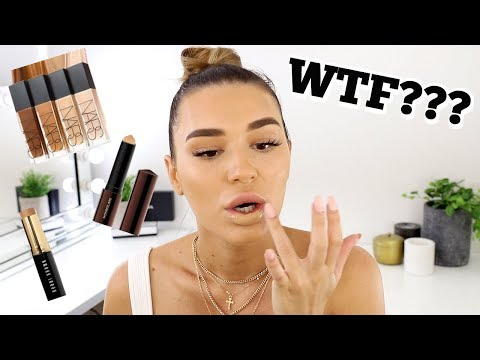 Full Face Using Only FOUNDATION... WTF