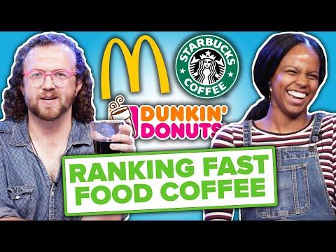 Baristas Rank Fast Food Coffee