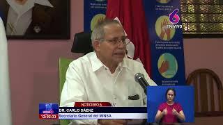 #EnVivo// Reporte Informativo del Ministerio de Salud.