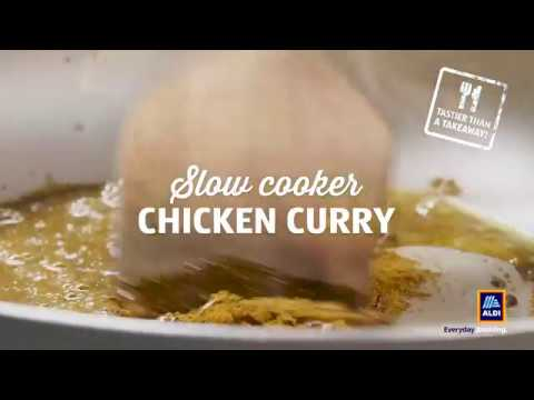 Introducing Aldi's Slow Cooker Chicken Curry