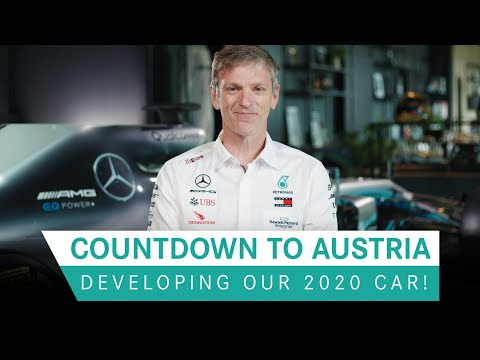 Countdown to Austria | Developing the 2020 Mercedes F1 Car!