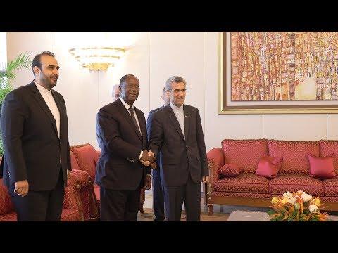 Le Chef de l'Etat a échangé avec l'Ambassadeur d'Iran, S.E.M.  Mansour Shakib MEH
