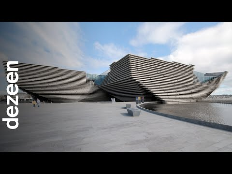 """Kengo Kuma interview: V&A Dundee museum is like a """"sea cliff"""" 