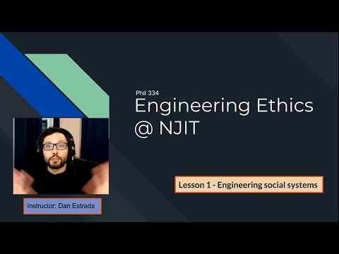 Lesson 1 - Engineering Social Systems