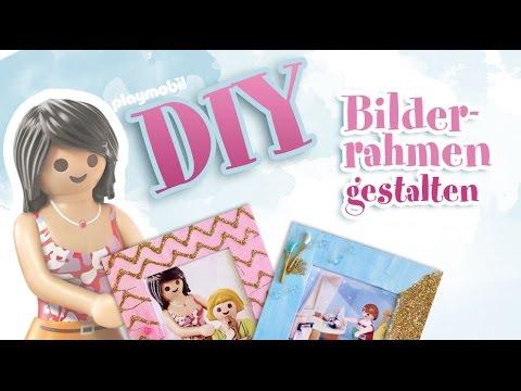 PLAYMOBIL DIY Bastelvideo - Bilderrahmen gestalten