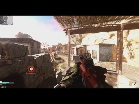NUKE in COD MODERN WARFARE Multiplayer Gameplay (No Commentary rYu)