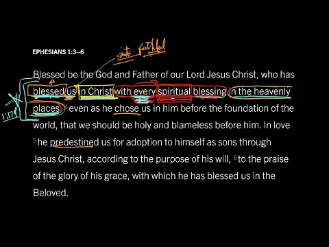 Ephesians 1:3–6 // Part 3 // Destined for Everything Heaven Can Offer
