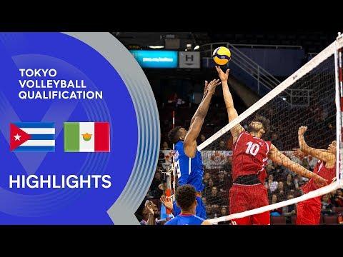 Cuba vs. Mexico - Highlights | NORCECA Men's Men's Tokyo Volleyball Qualification 2020