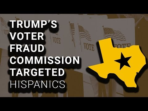 Trump Voter Fraud Commission Asked for Records of Texans w/