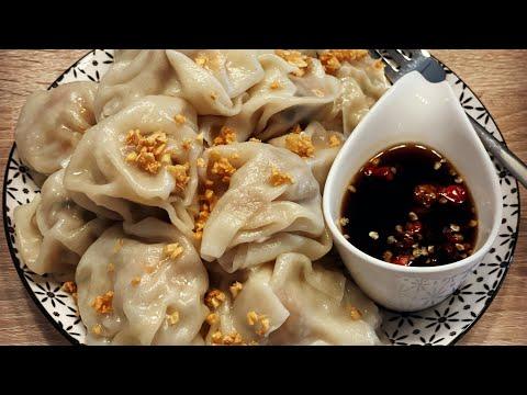 ขนมจีบต้ม- -Dumplings-🥟