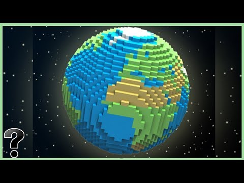 What If The Earth Was Made Of Lego?