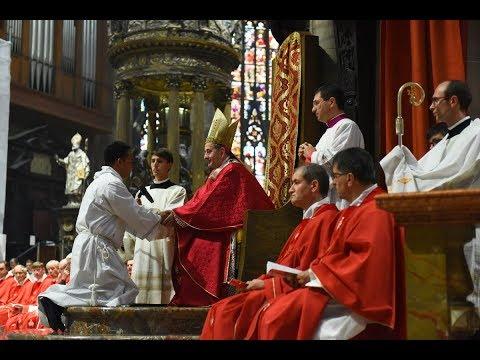 28 settembre 2019 Diaconi verso il sacerdozio, «perché il mondo creda» - omelia di mons. Delpini