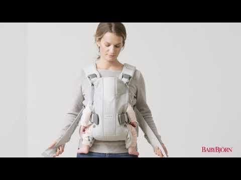 BABYBJÖRN - How to use the facing-in position for newborn on Baby Carrier One