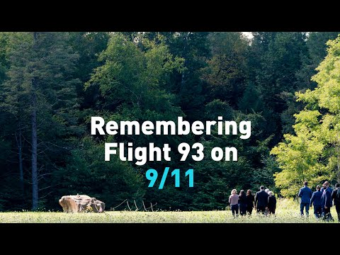 Remembering Flight 93 from the crash site