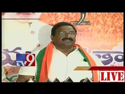 BJP MLC Somu Veerraju Press Meet    Vijayawada    LIVE