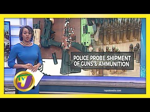 Police Probing Major Gun Find at St. James Port - January 12 2021