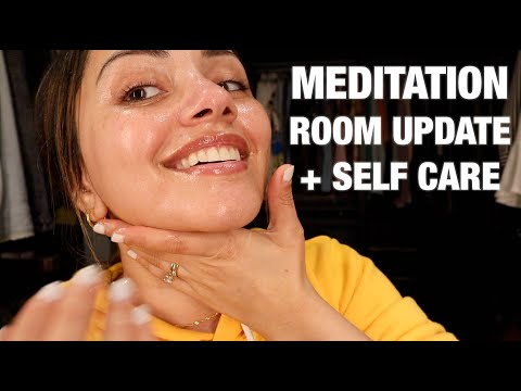 MAKING A START ON OUR MEDITATION ROOM + SELF CARE