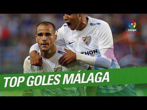 TOP 10 Goals Malaga CF LaLiga Santander 2016/2017