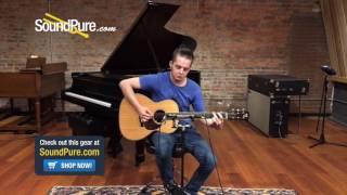 Santa Cruz H14 Natural Finish Acoustic Guitar #1311 (Used) Quick n' Dirty