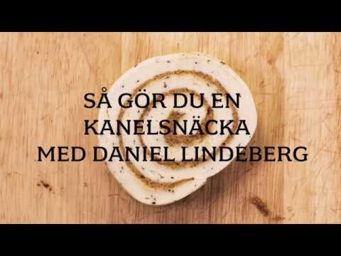 Så gör du en kanelsnäcka med bagaren Daniel Lindeberg