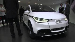 AUDI A2 Concept Car revealed